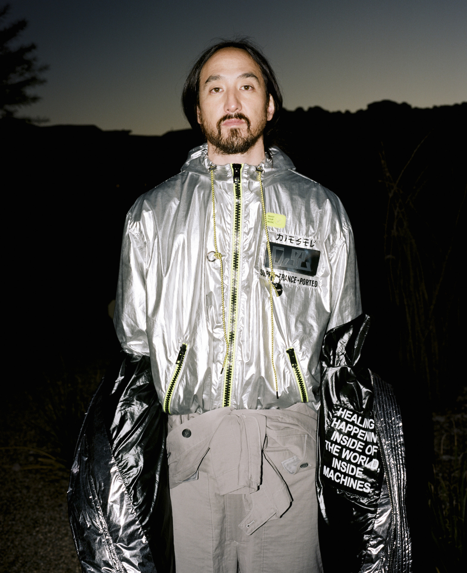 Steve Aoki Rouge Fashion Book